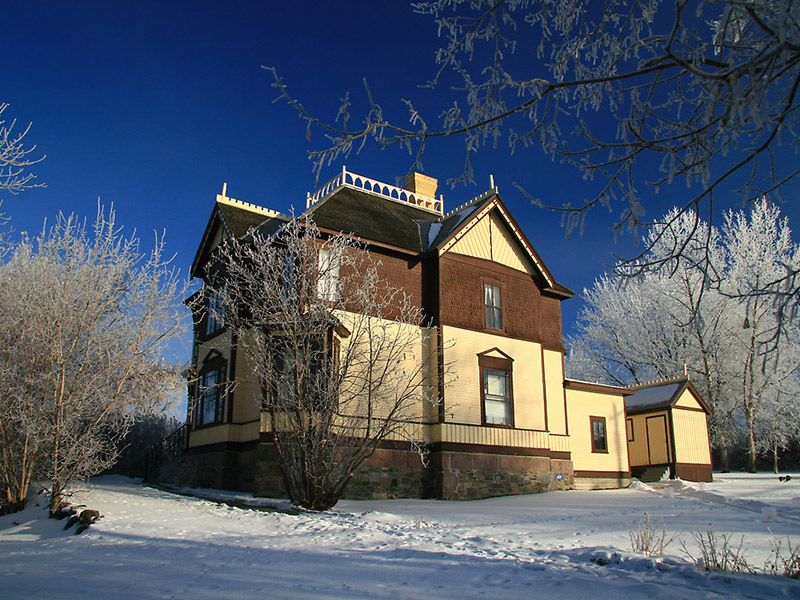 Mather-Walls House in Kenora