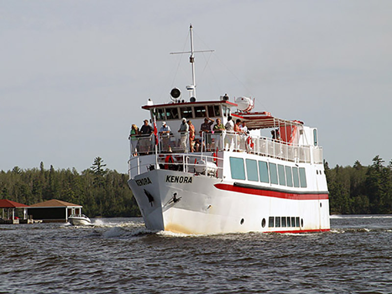 The MS Kenora Cruise Ship